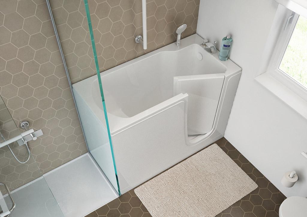 Bathtubs With Door For The Elderly