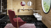 Furnishing accessories for bathrooms