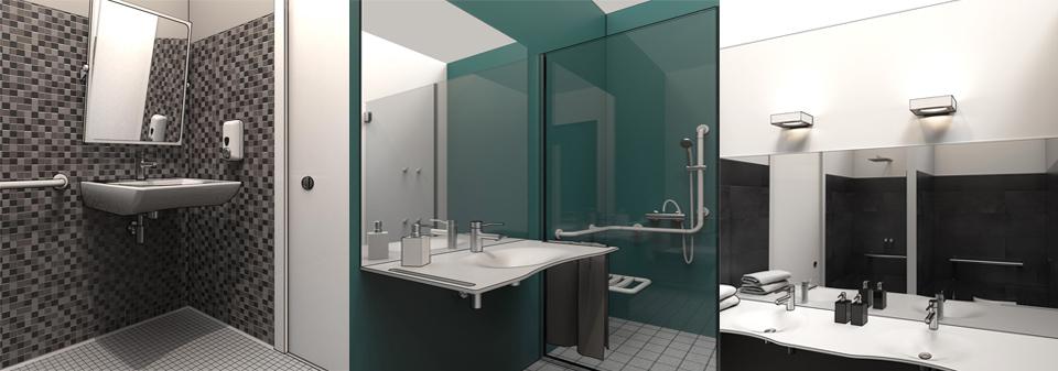 Disabled Bathroom Design